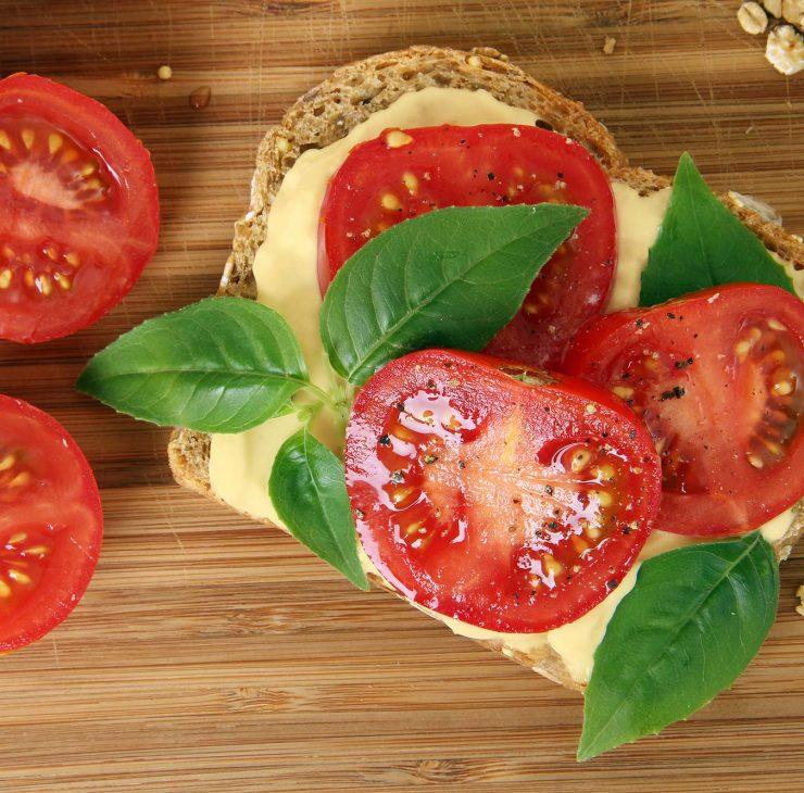 Sumuštinis su pomidorais