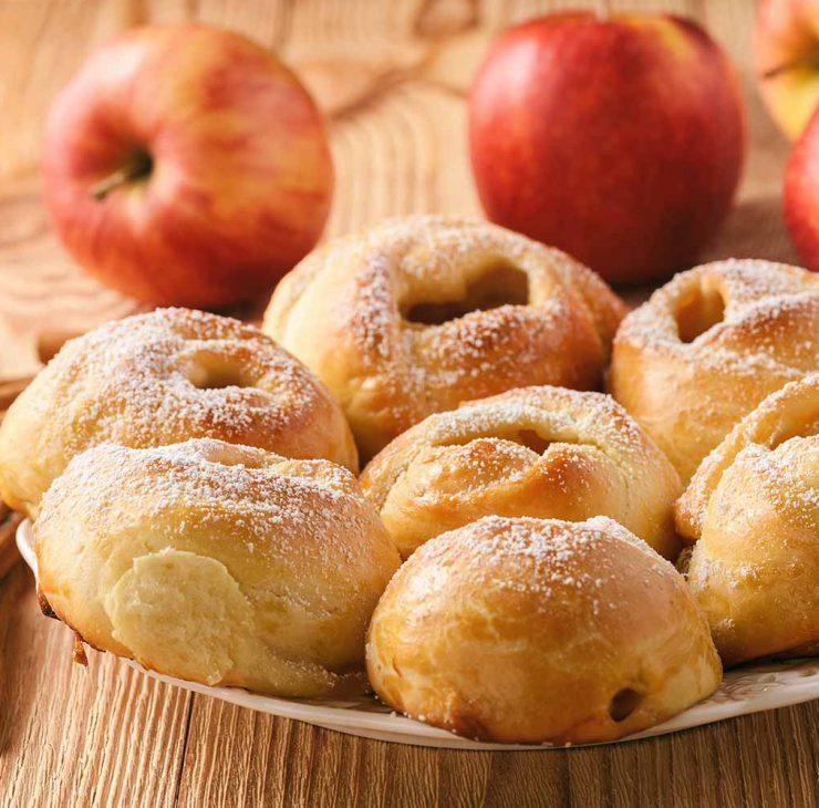 Bandeles su obuoliais