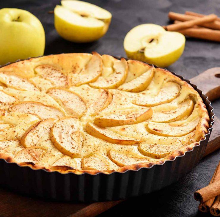 Purus obuoliu pyragas