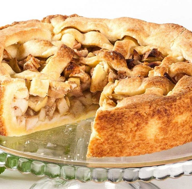 Tradicinis obuolių pyragas
